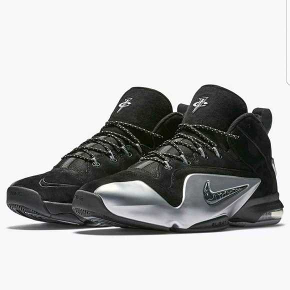 new arrival 9c39c 25be3 🔥🔥Nike Air Zoom Penny VI 6 Black Sliver Rare